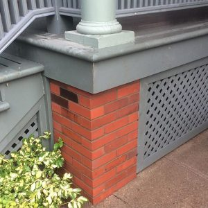 New Brick Pillar